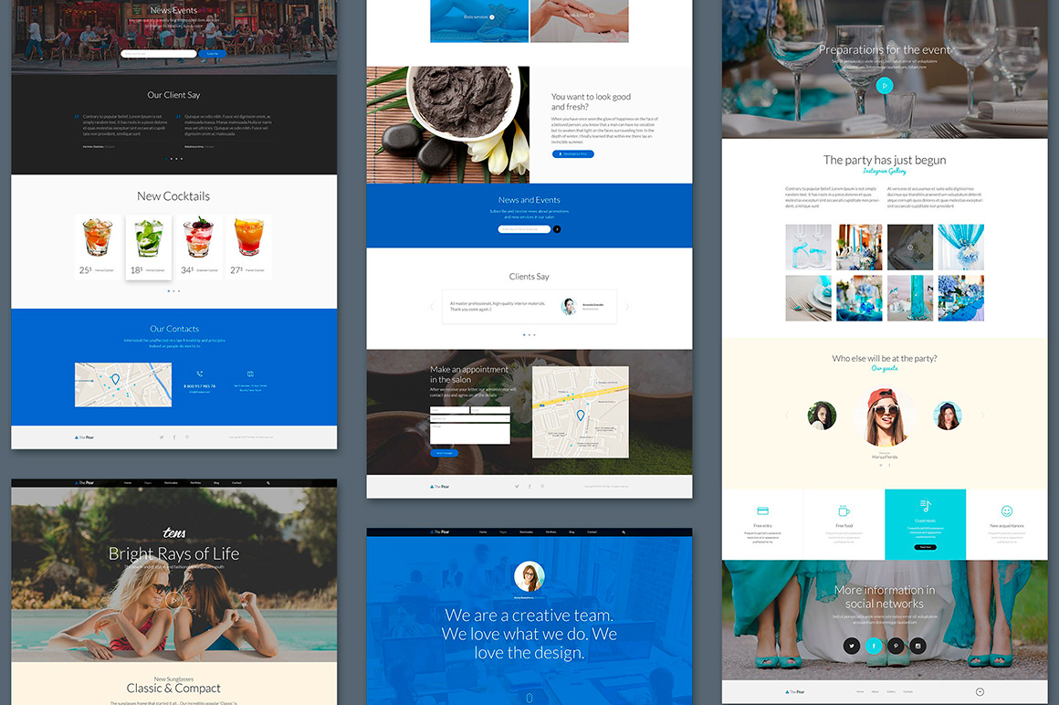 The Pear Starter Web UI Kit example image 7