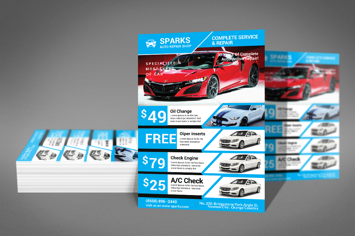 Car Business Flyer example image 3