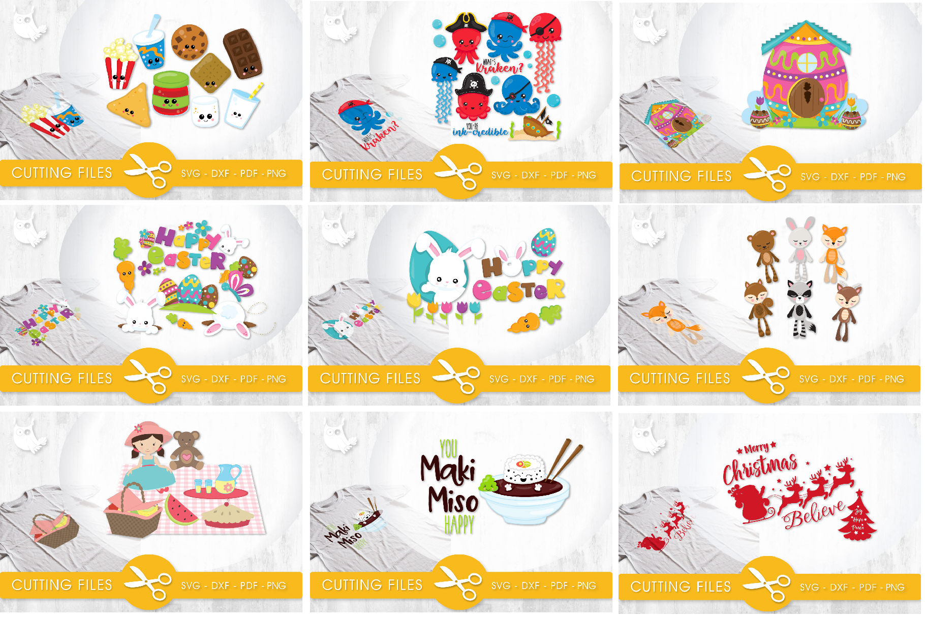 The AMAZING CRAFT BUNDLE, 1500 in 1, cutting file svg, dxf, example image 15