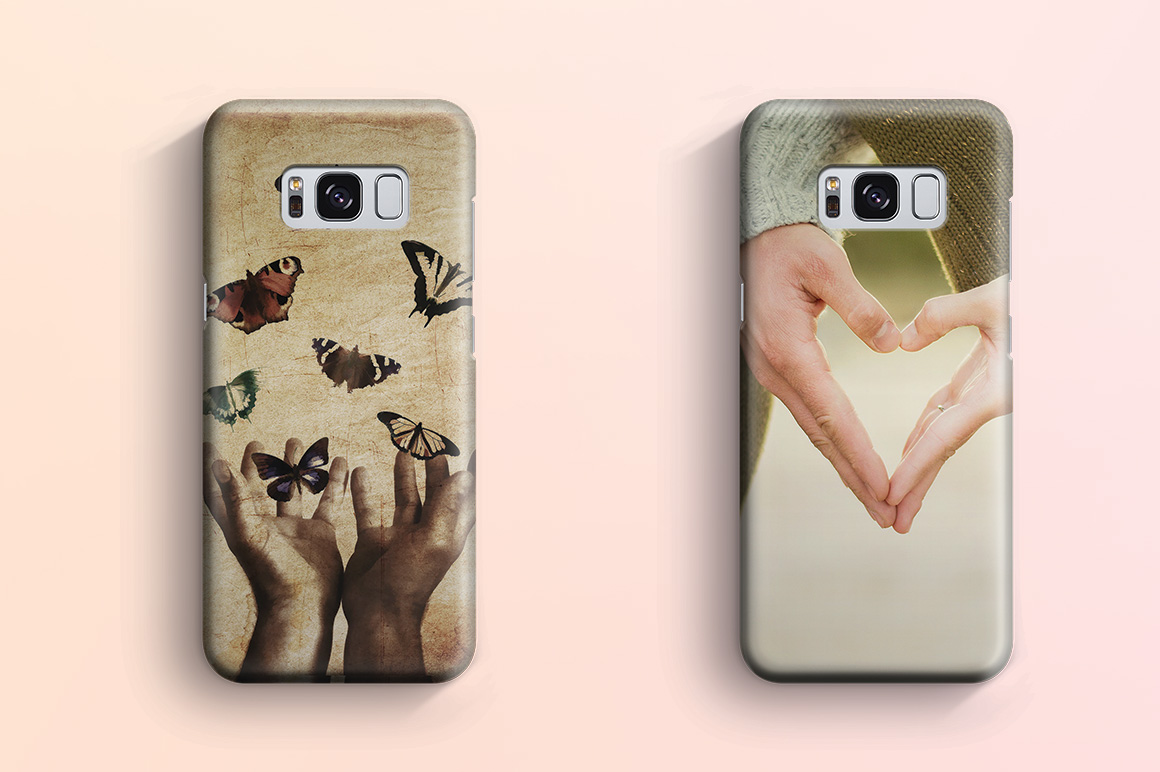 Download Samsung Galaxy S8 3d case Mockup (37263) | Mock Ups ... Free Mockups