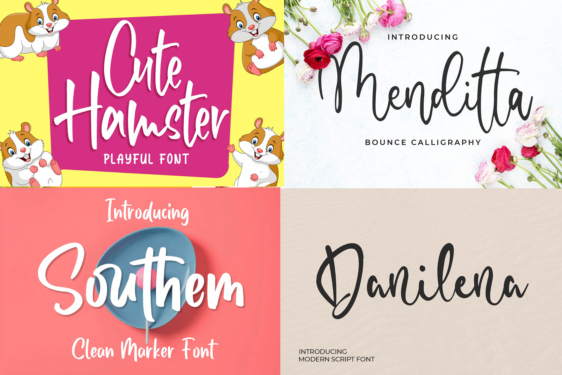 New Year Big Bundle - Crafting Fonts Collection example image 7