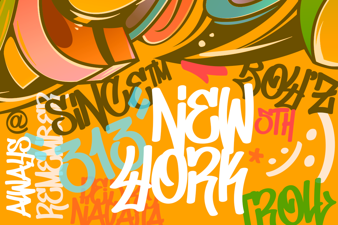 Don Graffiti Urban Style Font example image 5
