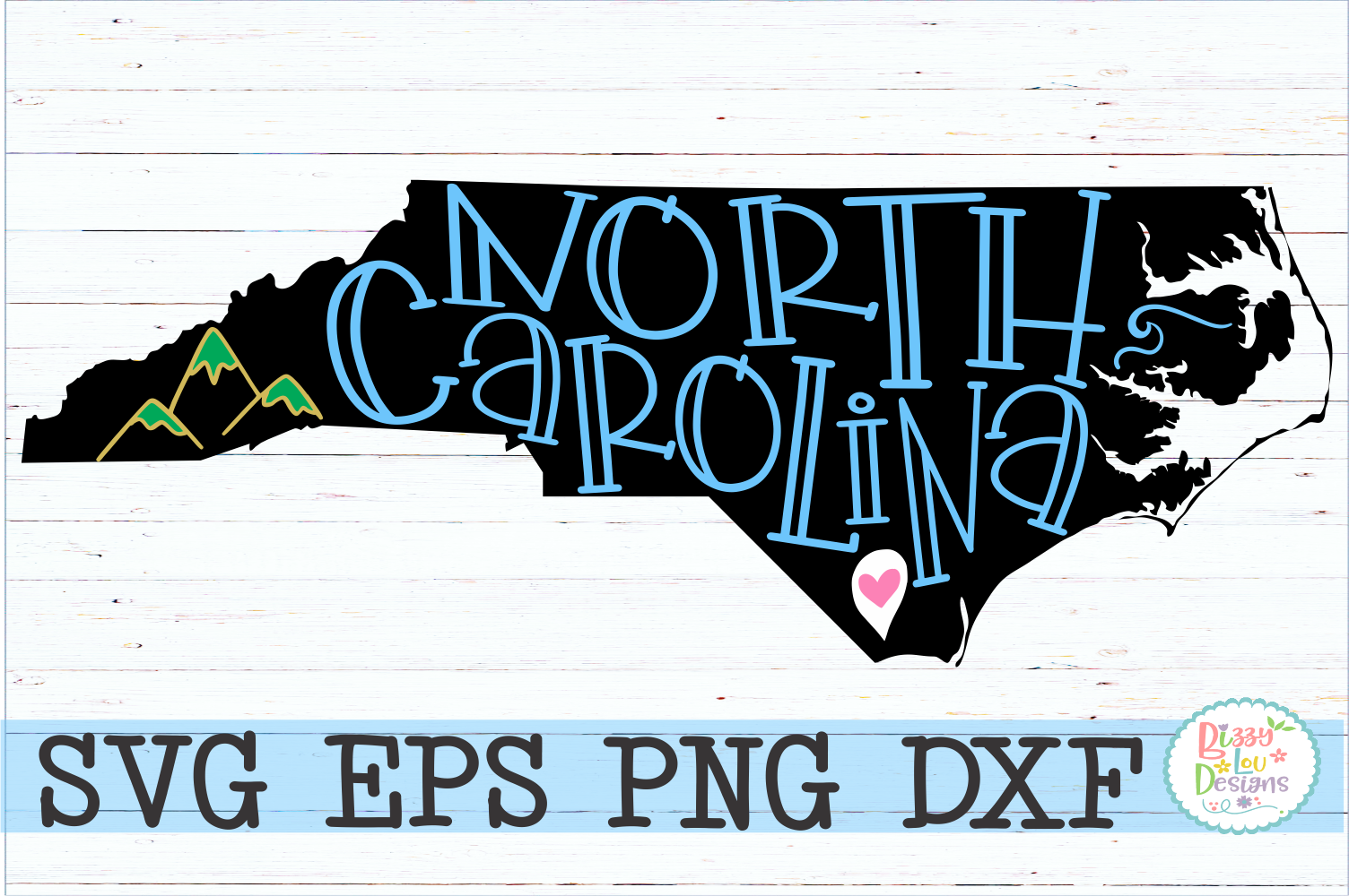 North Carolina State Pride example image 1