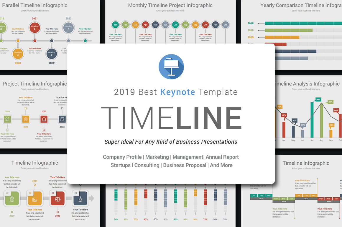Keynote Timeline Template example image 2