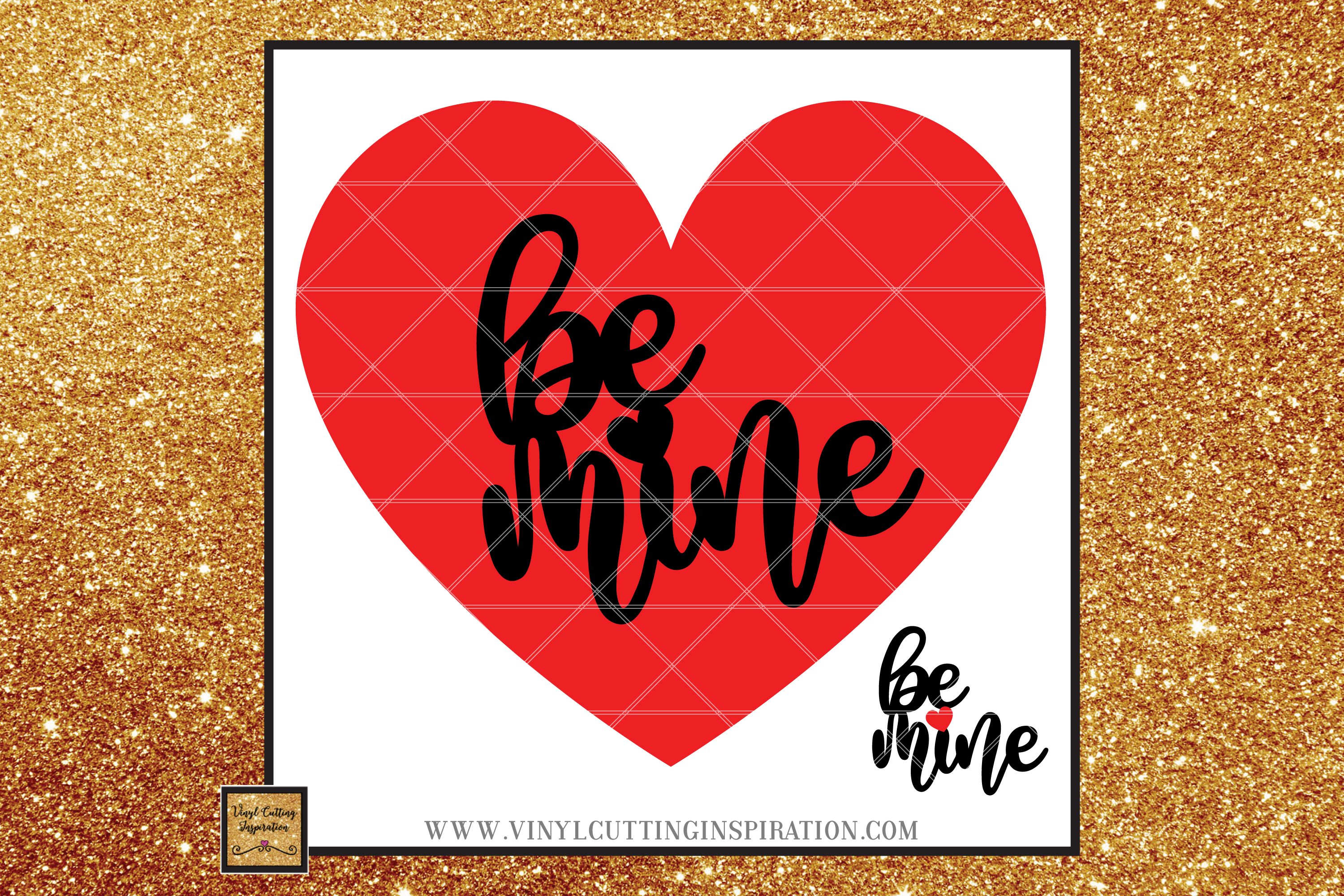 Valentine Svg Be Mine Svg Cutting Files for Cricut, love svg example image 1