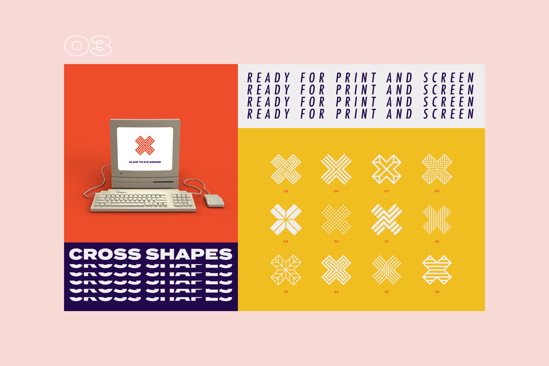 96 Geometric shapes & logo marks VOL.2 example image 8