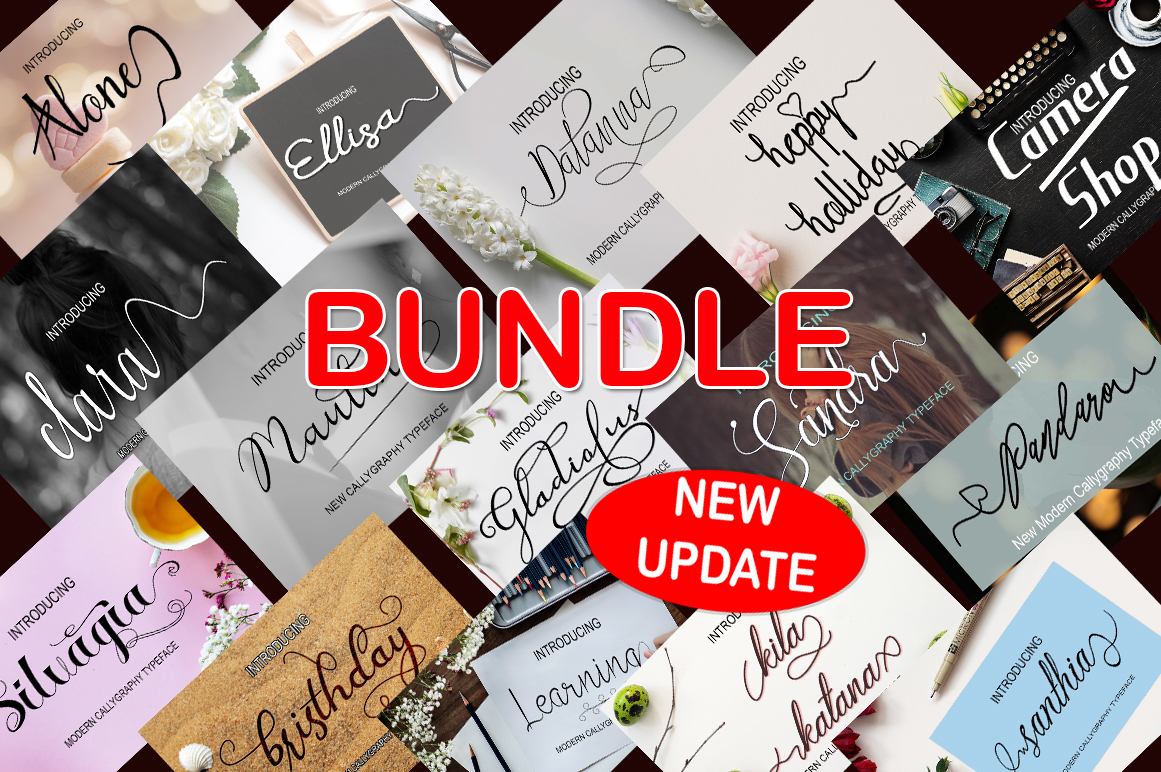 NEW UPDATE BUNDLE 2018 SAVE 95%  example image 1