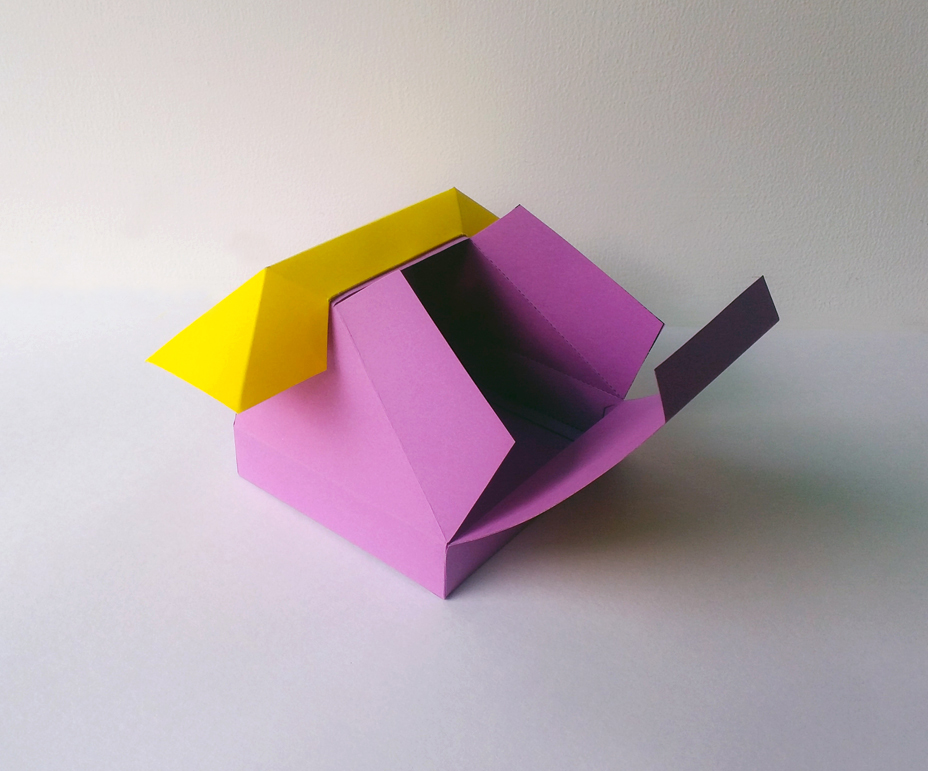 DIY Telephone favor - 3d papercraft example image 4