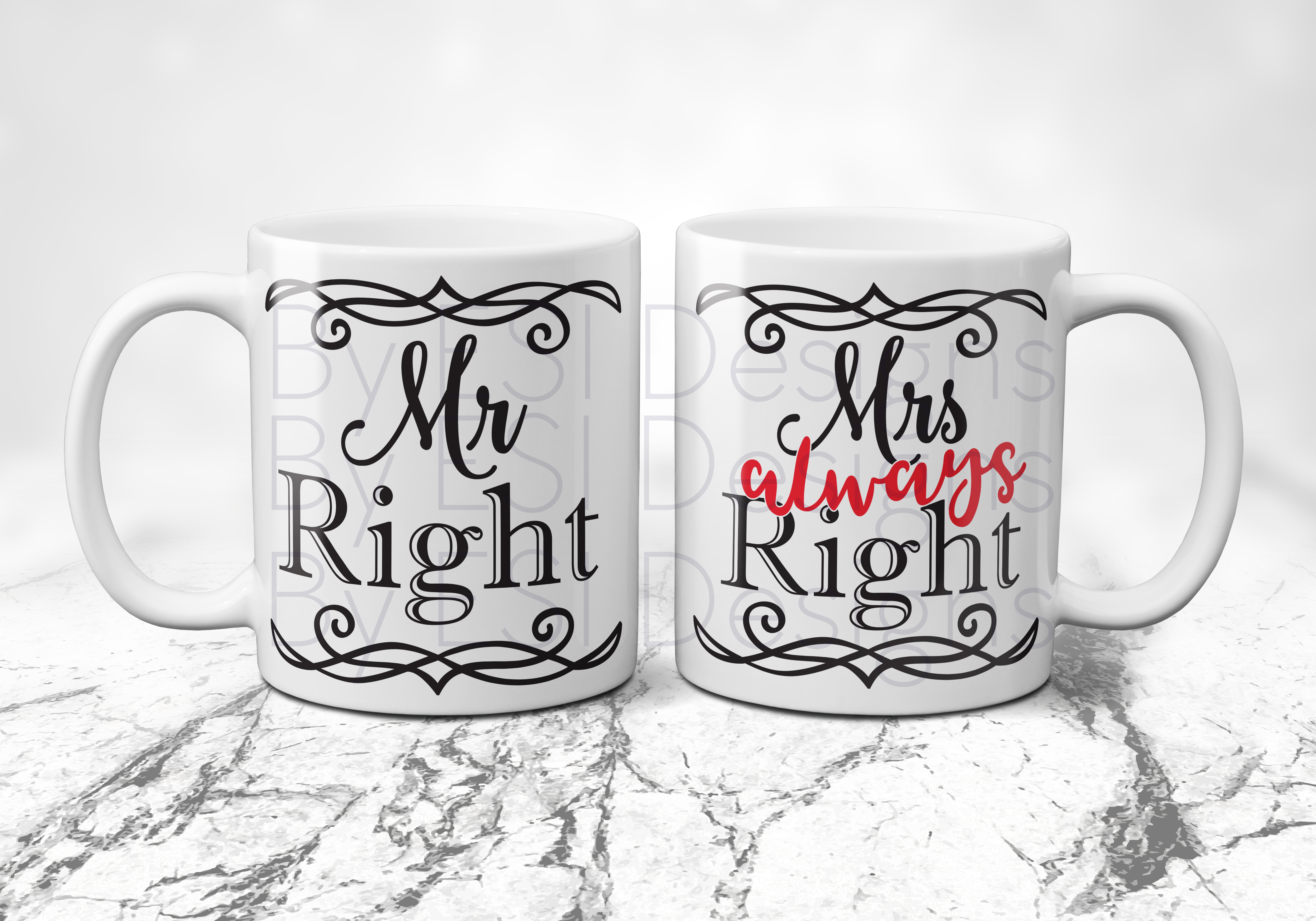 Mrs Always Right - Mr Right example image 2