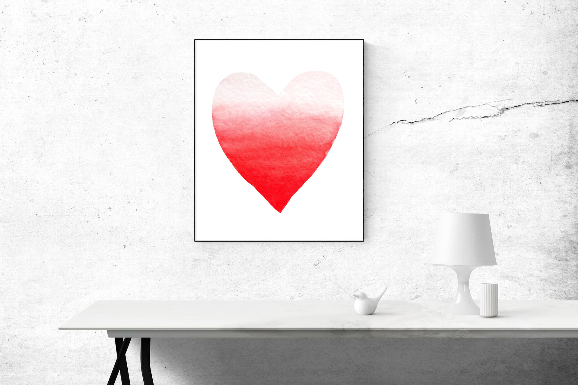 Valentine's Day set of watercolor example image 11