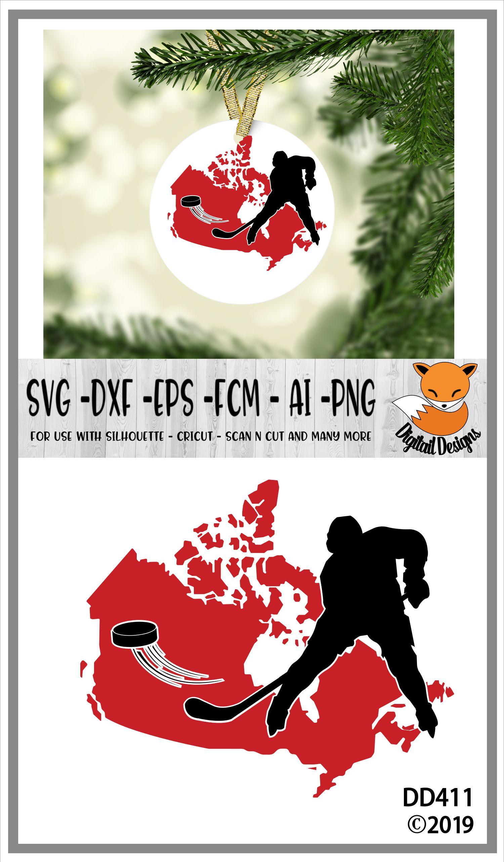 Canadian Map Hockey example image 2