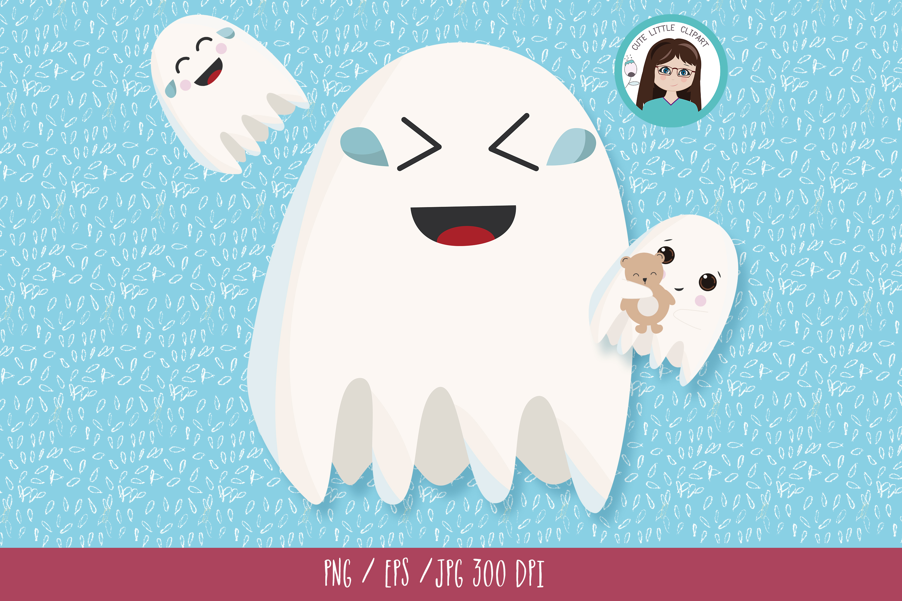 Ghost clipart example image 6