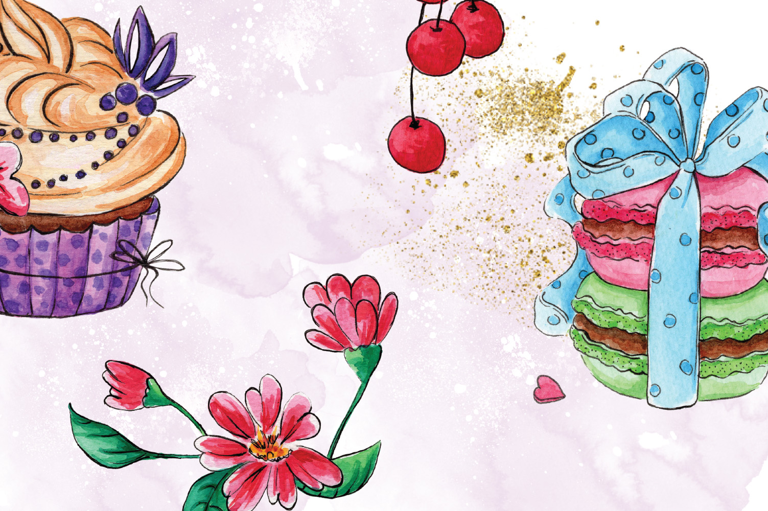 Cakes Collection Clip Art example image 4