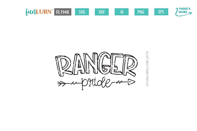 Ranger Pride Team SVG Cut File example image 2