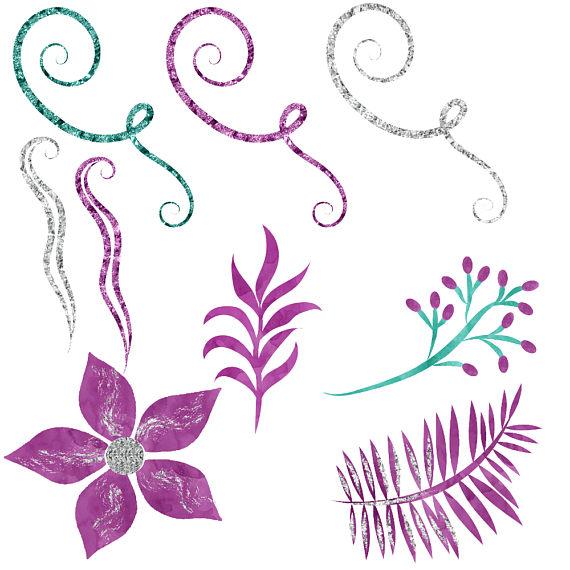 Hummingbird watercolor clipart example image 2