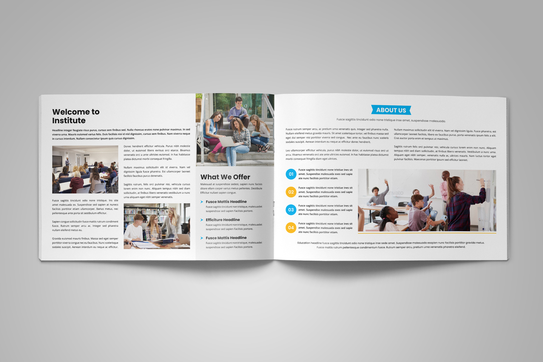 Education Prospectus Brochure v9 example image 3