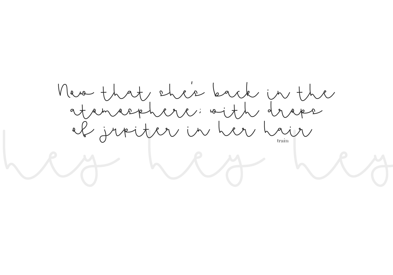 Flamingo - Handwritten Script Font example image 3