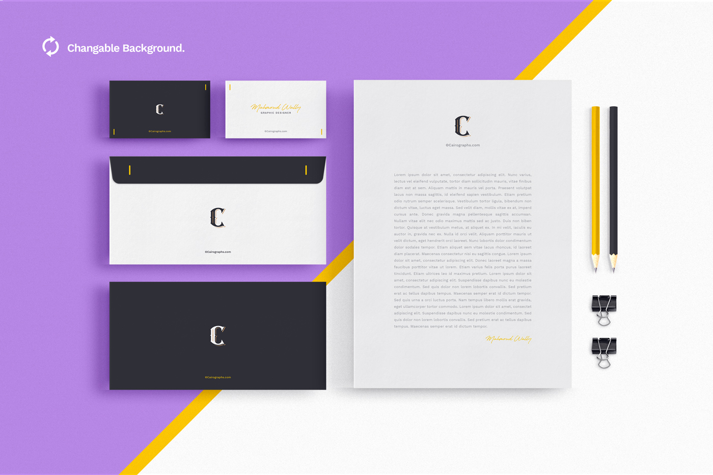 Stationery & Branding Mockups example image 1
