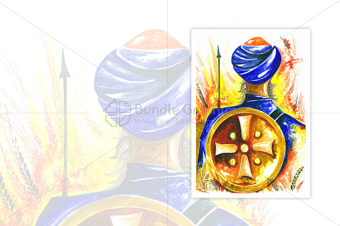 Visakhi - Handmade Painting example image 1