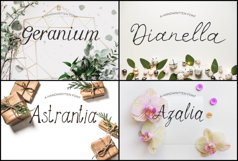 15 Creative Handmade Fonts Bundle example image 5