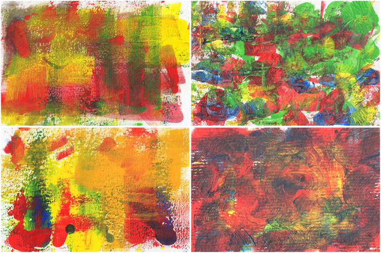 Abstract Acrylic Background example image 5
