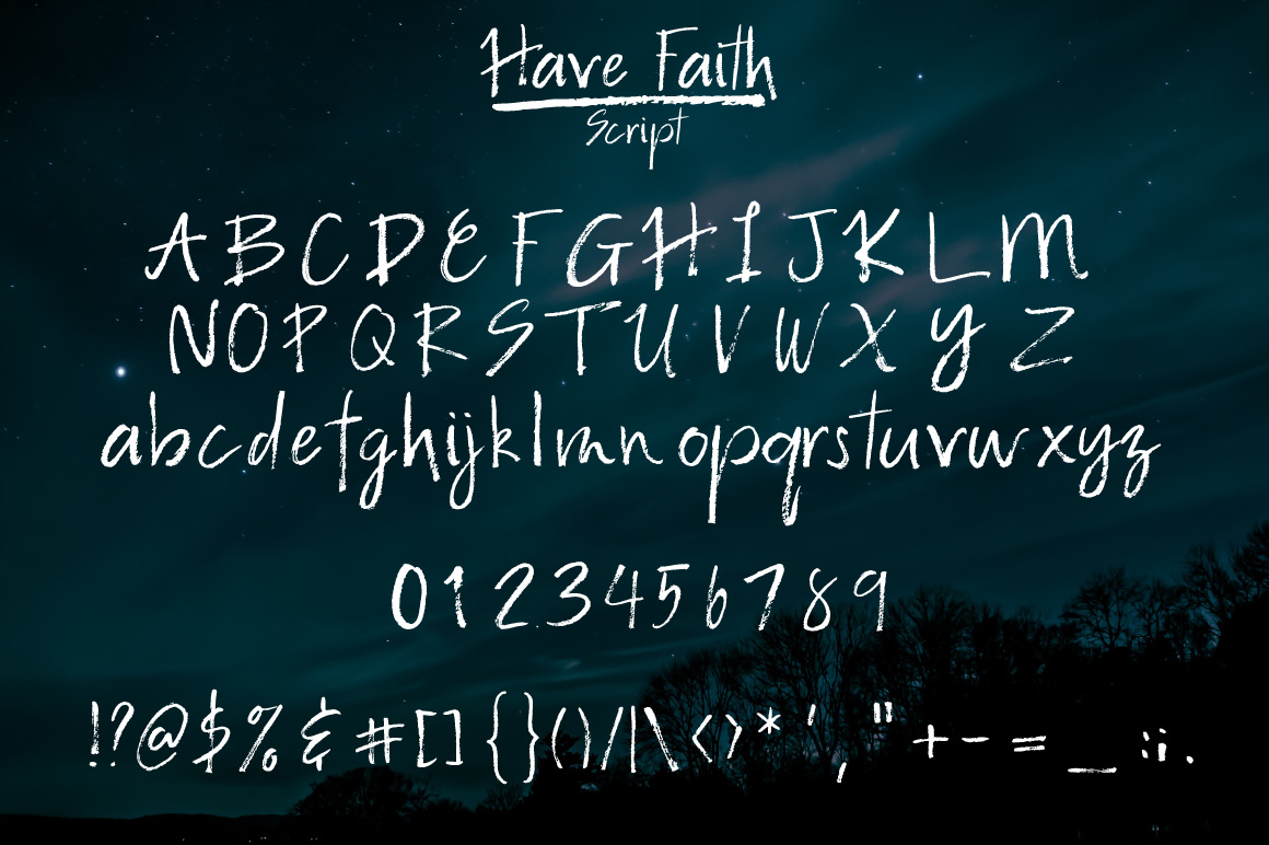 Have Faith Script example image 2