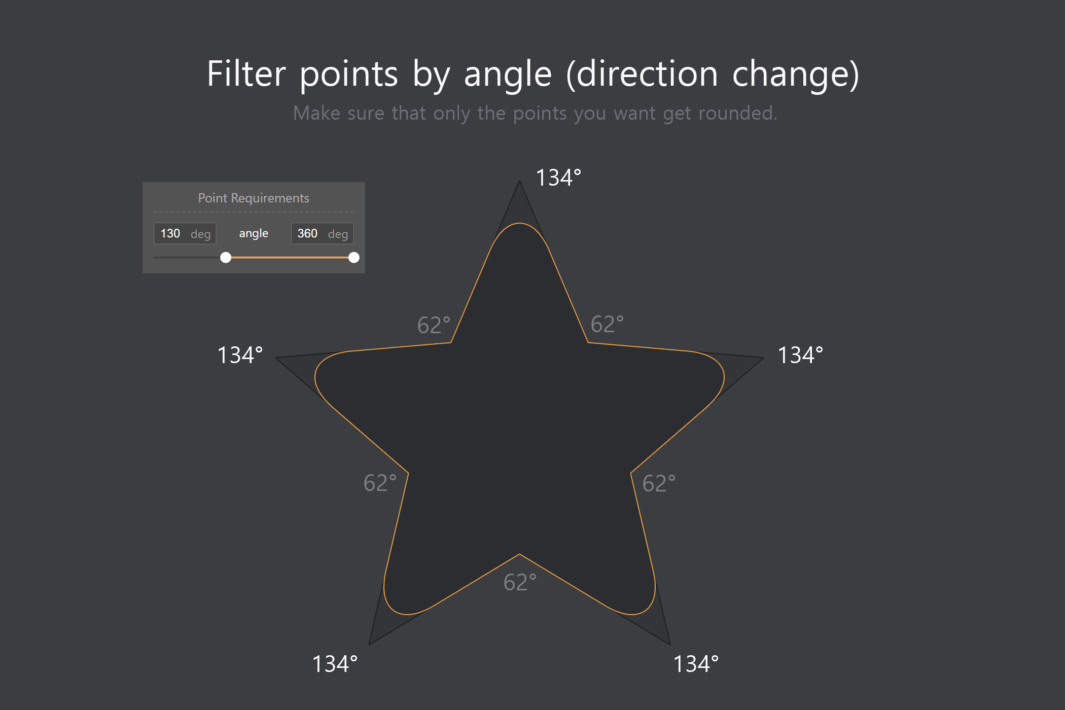 Shape Rounder - Path Editing Kit example image 2