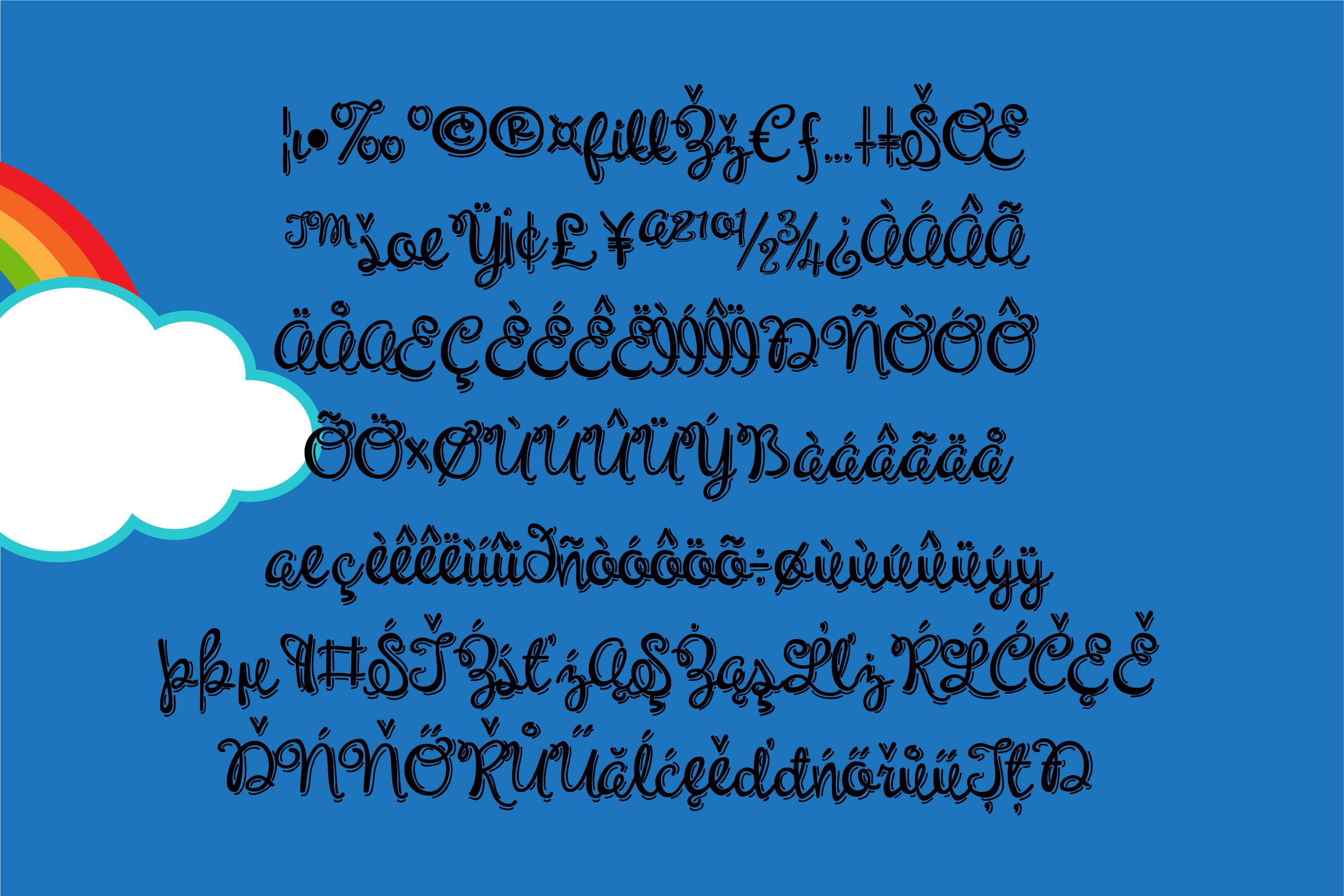 PN Unicorn Script Jitter example image 3