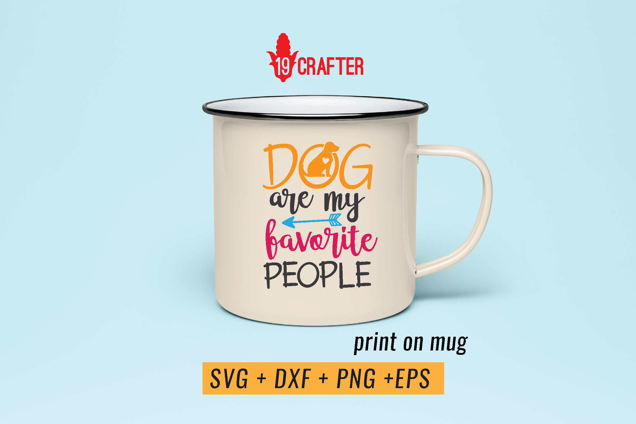 dog are my favorite people svg dxf png eps example image 4