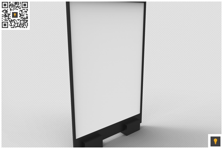 Flyer Display 3D Render example image 5
