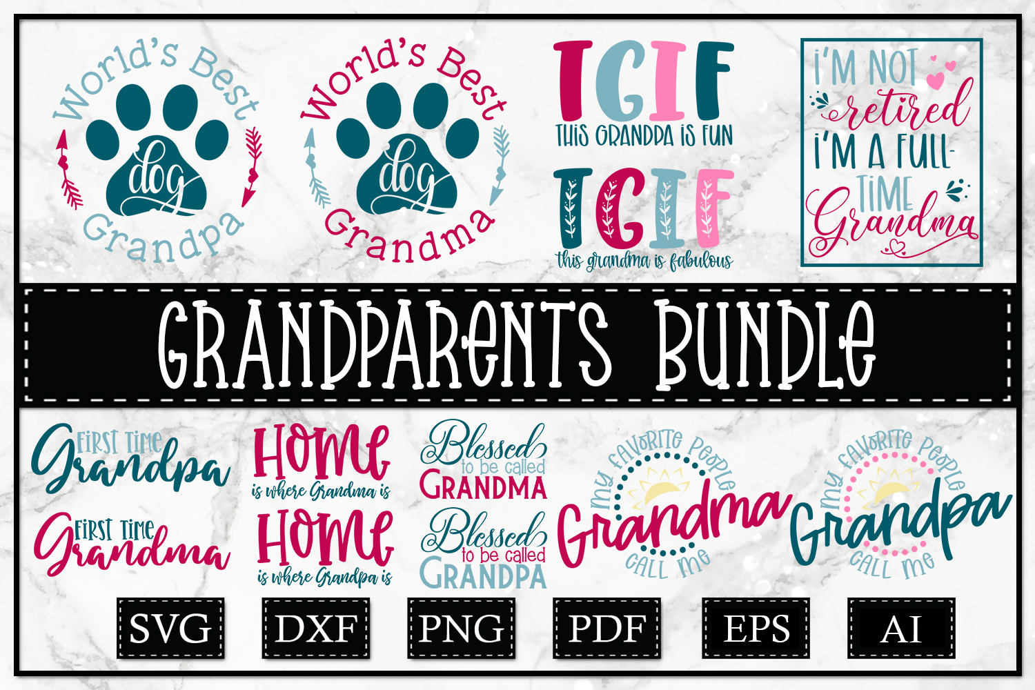 An Exceptionally Huge Bundle - Grandparents Edition example image 2