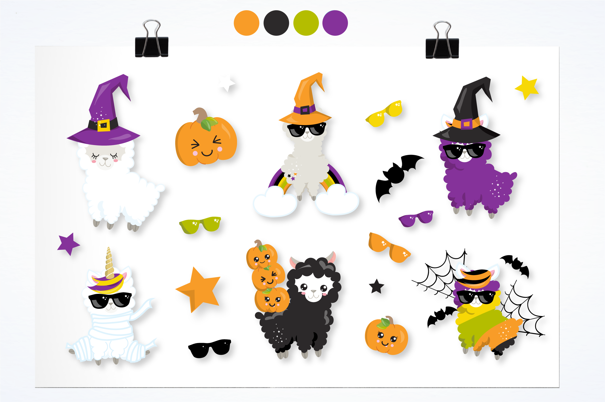 Halloween sheep graphics and illustrations example image 4