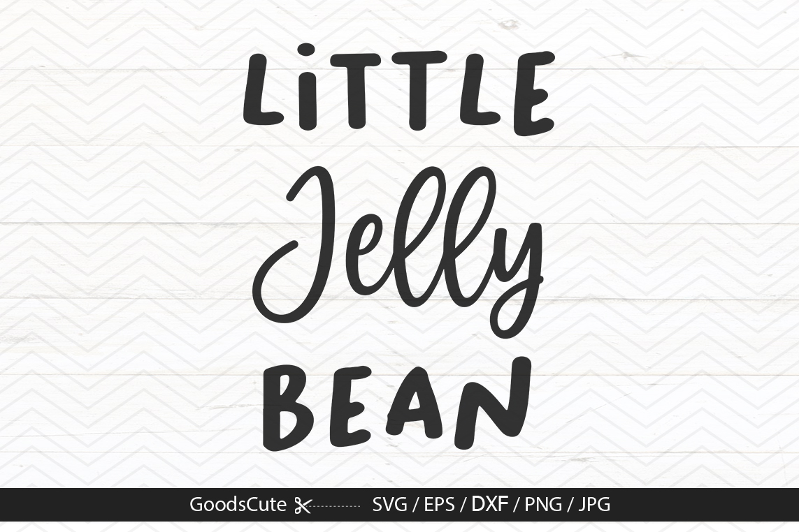 Little Jelly Bean - SVG DXF JPG PNG EPS example image 1