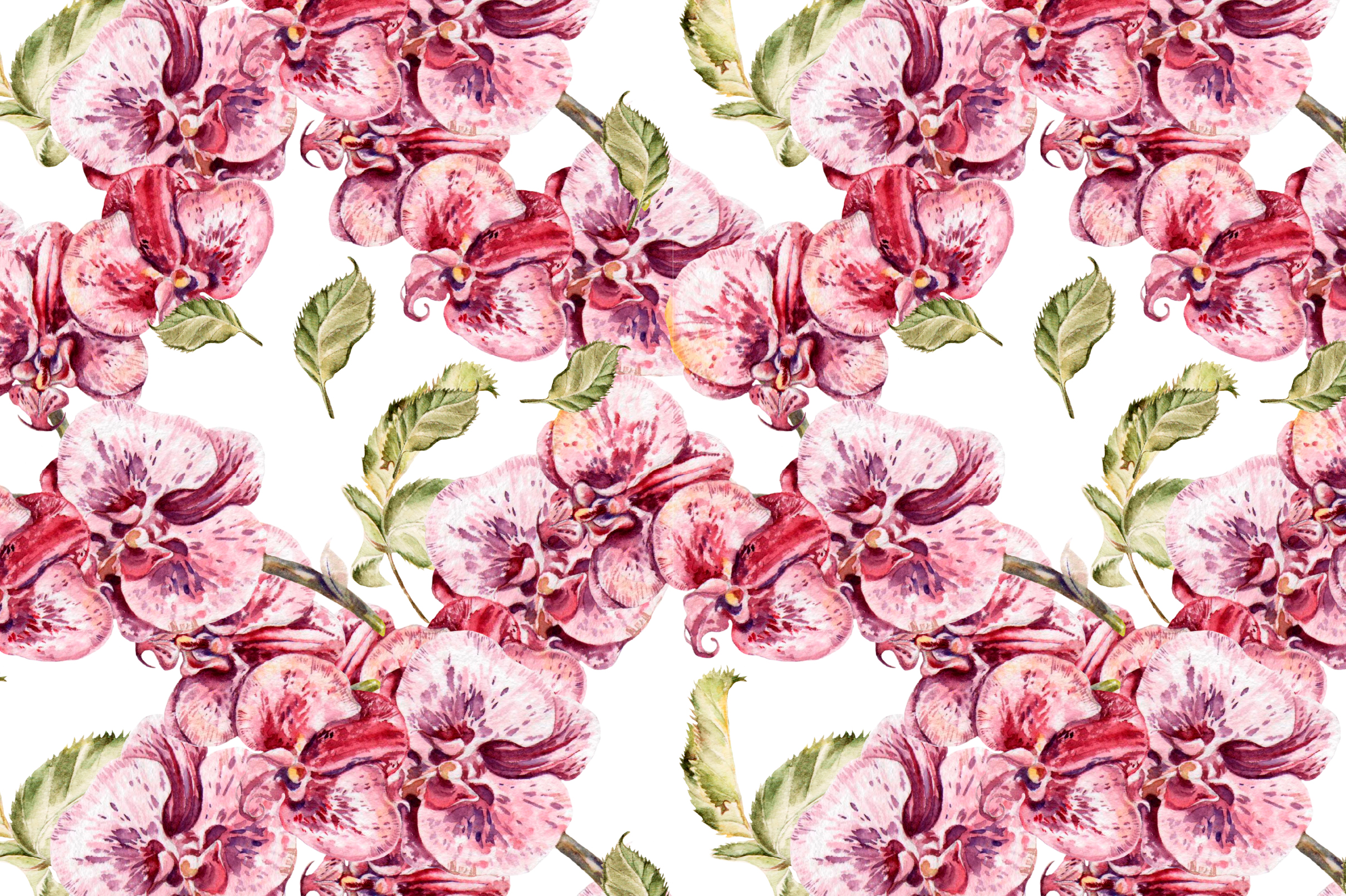 8 bright watercolor patterns example image 8