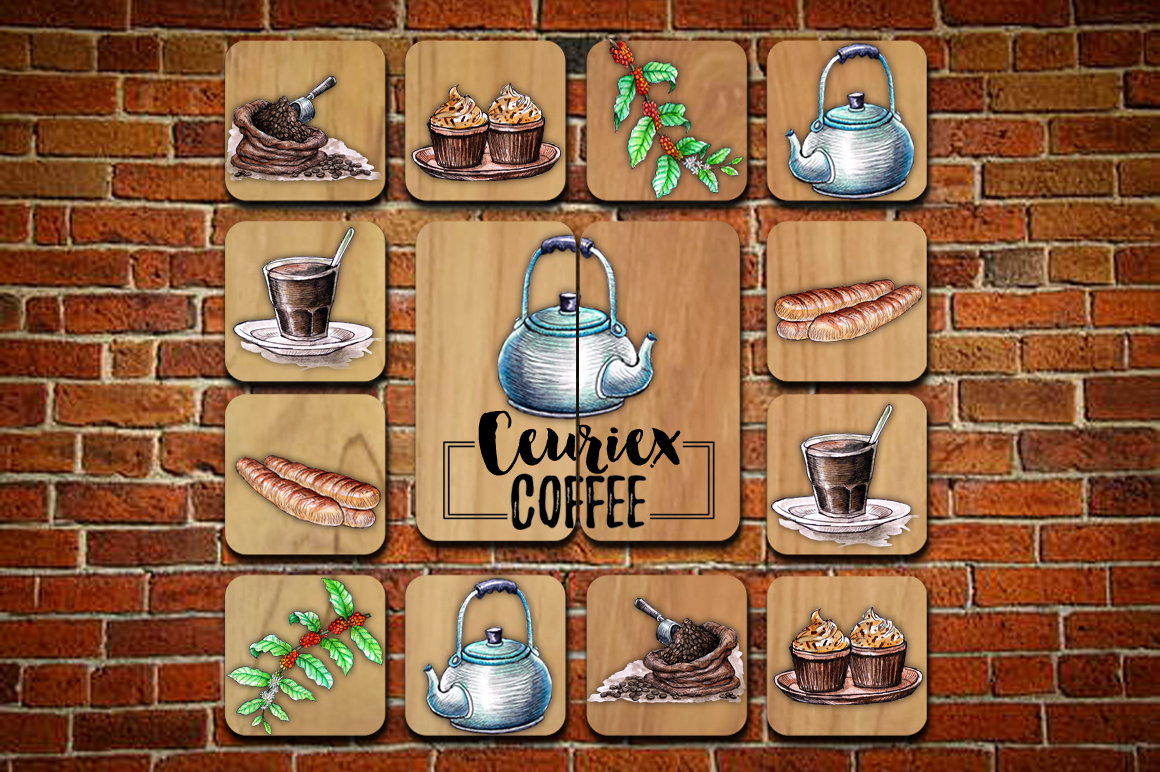 Watercolor Coffee (promo 50%) example image 9