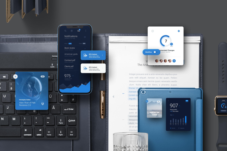App / UI Kit Mockups example image 7