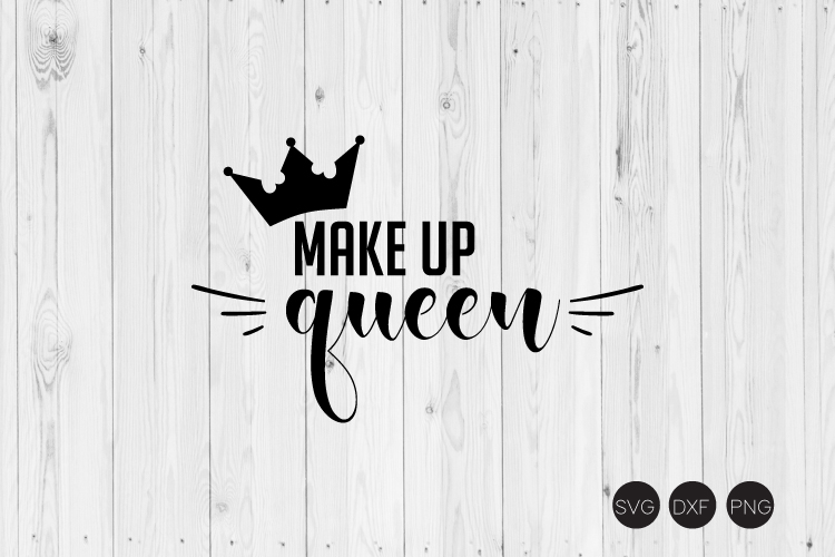 Make Up Queen SVG example image 1