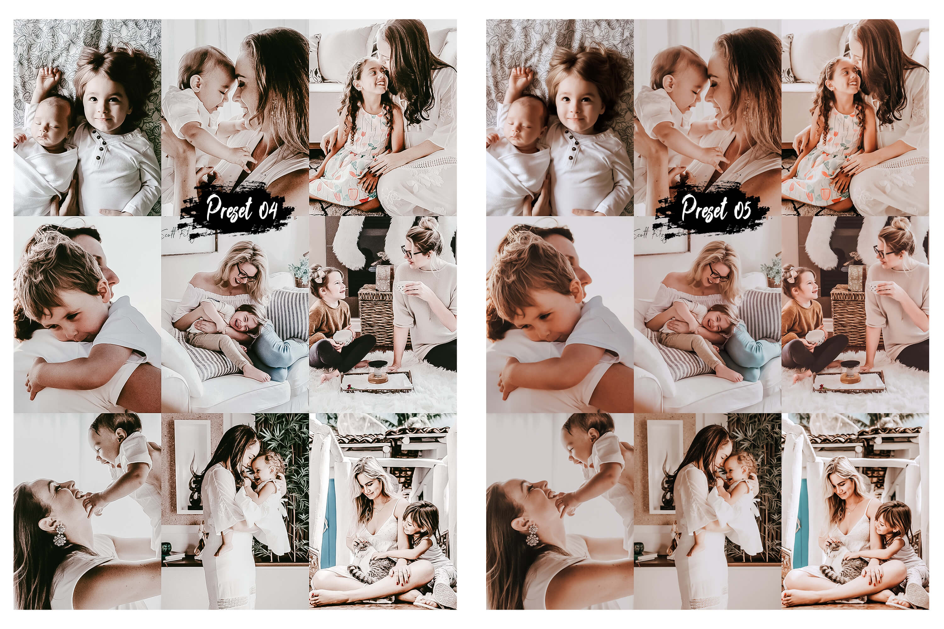 10 Family & Kids Photoshop Actions, ACR and LUT presets example image 5