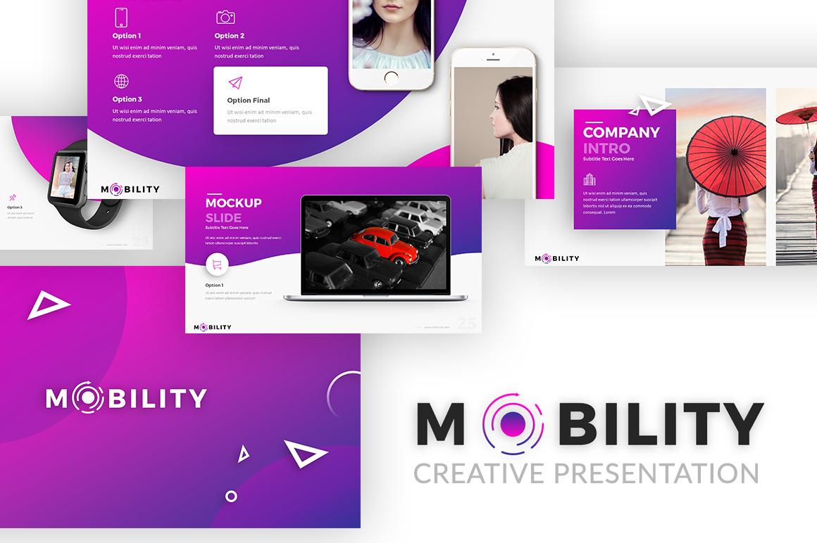 Mobility - Creative Presentation example image 1