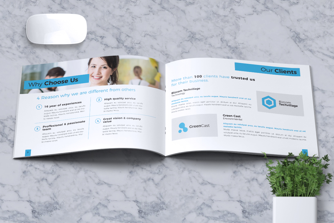 Cleaning Service Company Brochure example image 7