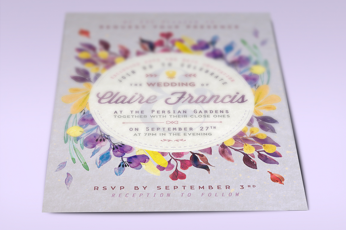 Ultra-Violet Lovely Foliage Card IV example image 3