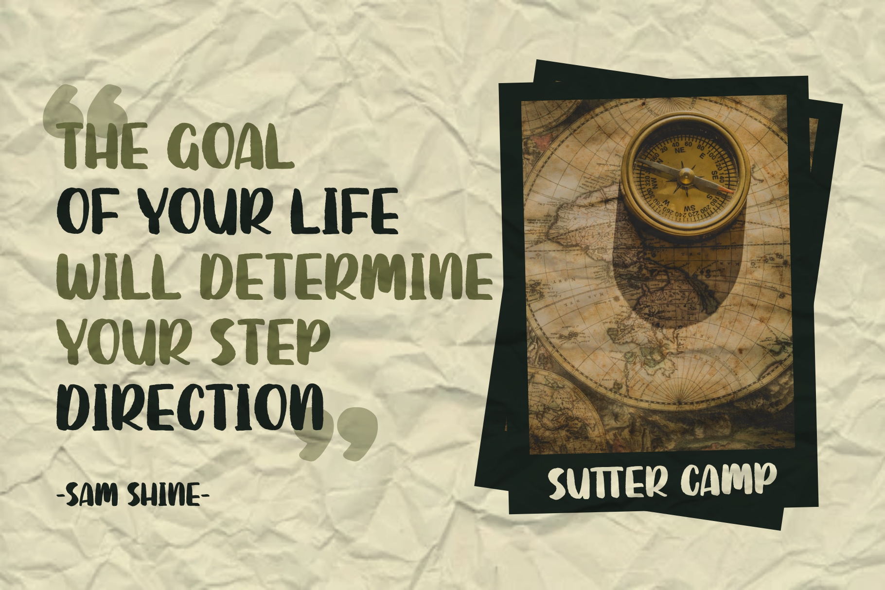 SUTTER CAMP - Adventure Typeface example image 5