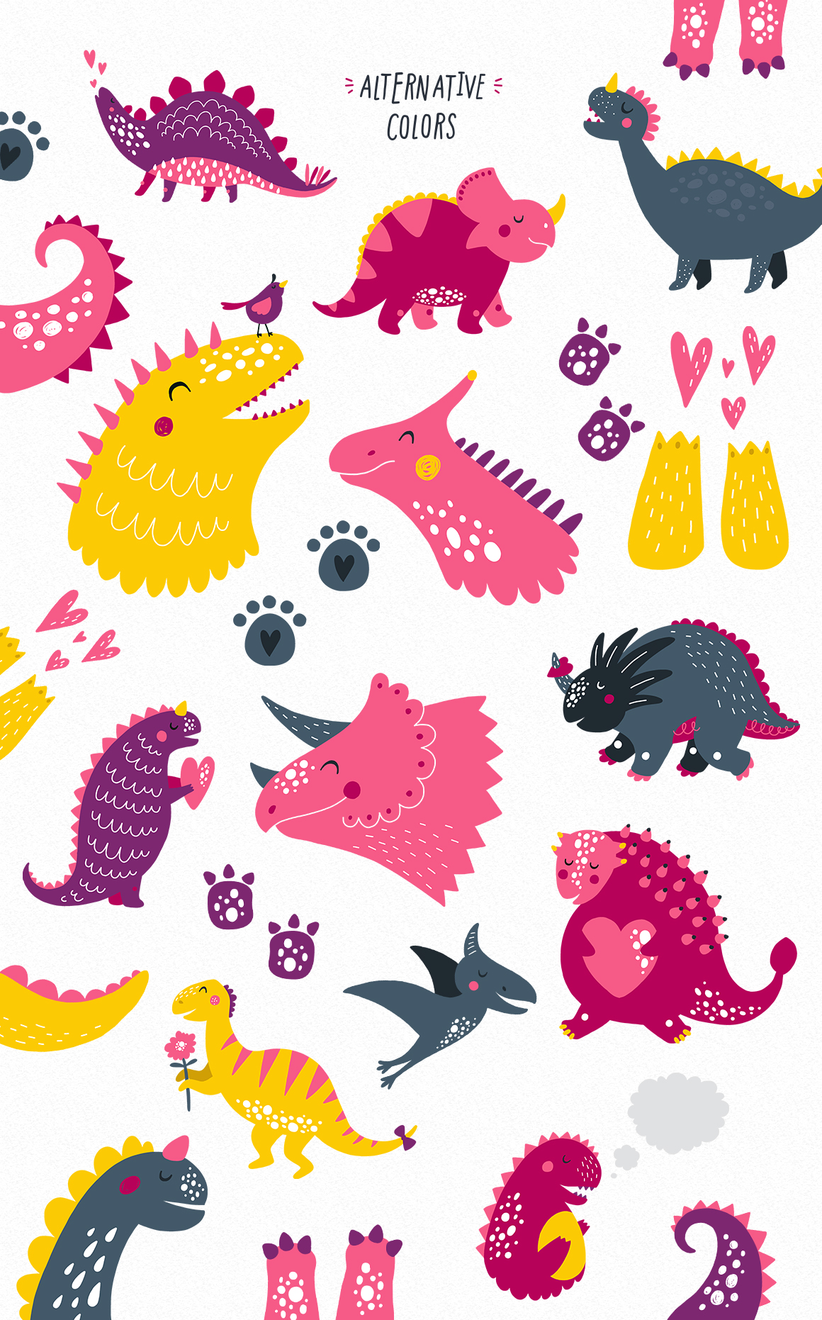 Cute Dinosaurs example image 5