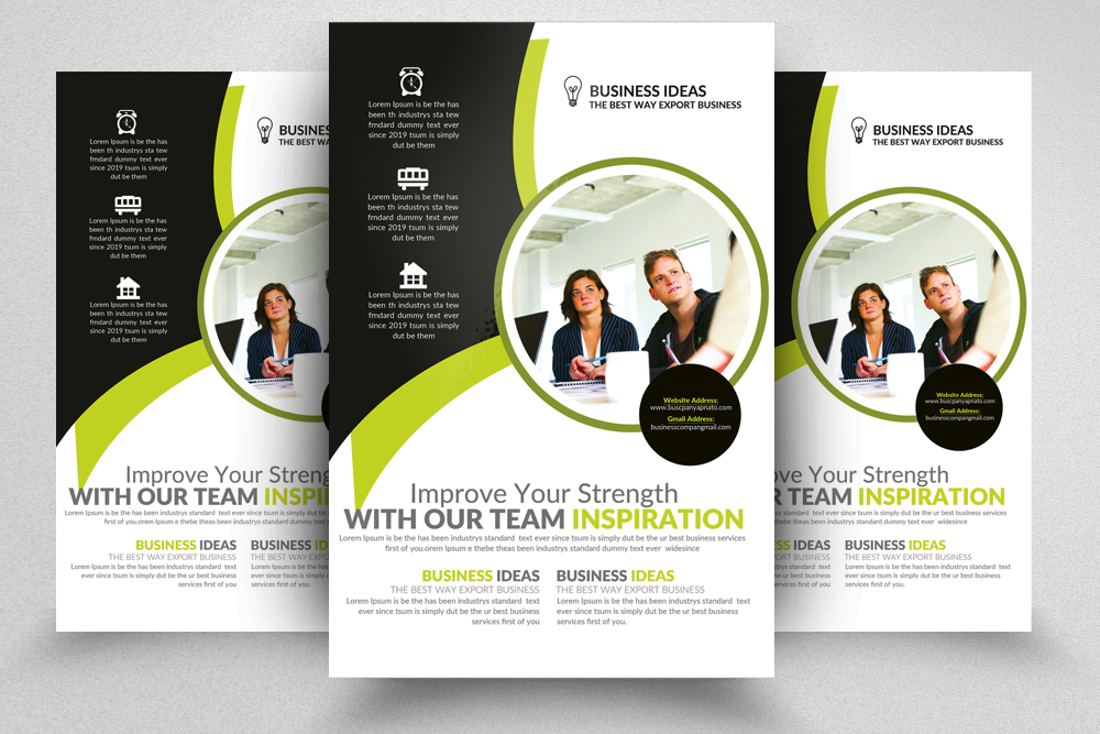 Information Technology Consultants Flyer Templates