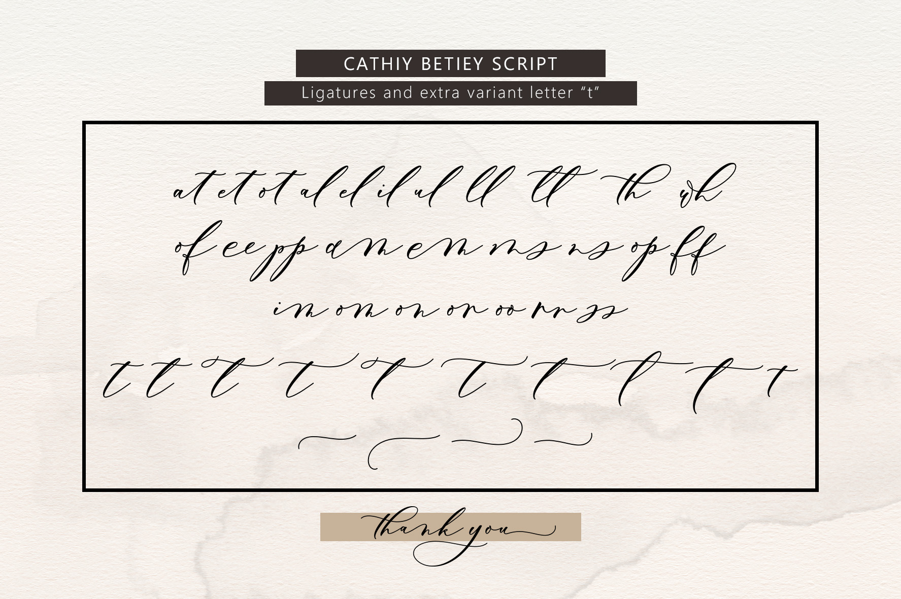 Cathiy Betiey Script example image 9
