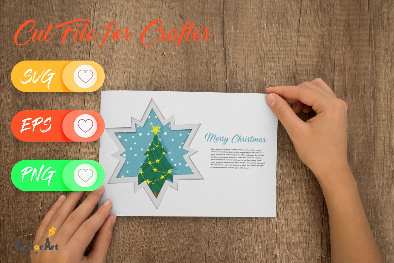 Christmas Star Paper Cut - Christmas Tree example image 2