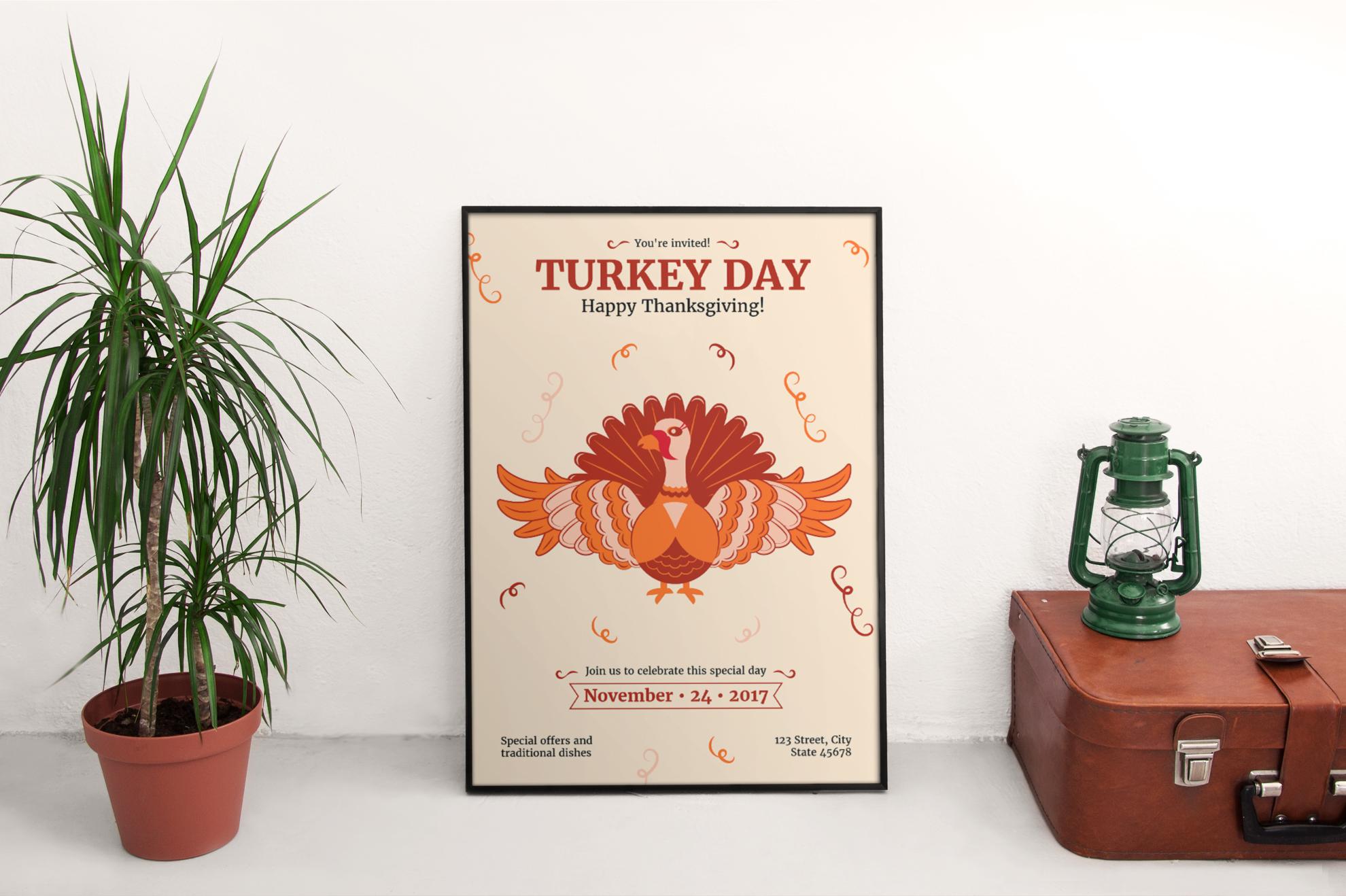 Thanksgiving Celebration Design Templates Bundle example image 4