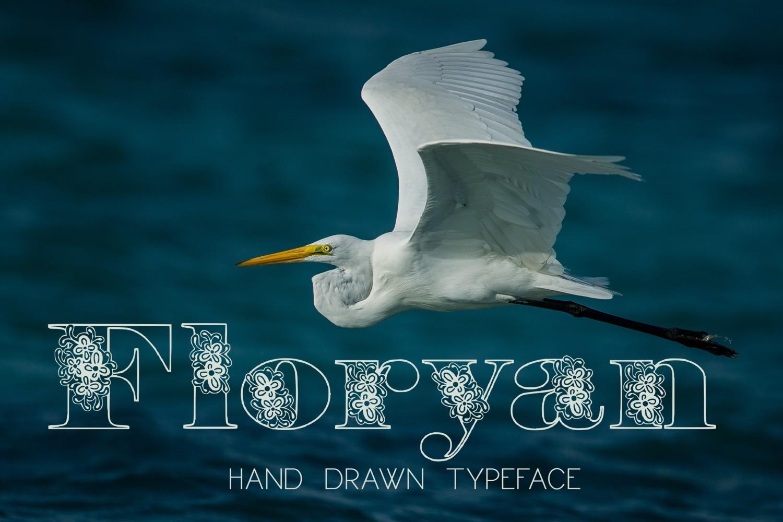 Floryan Font example image 1