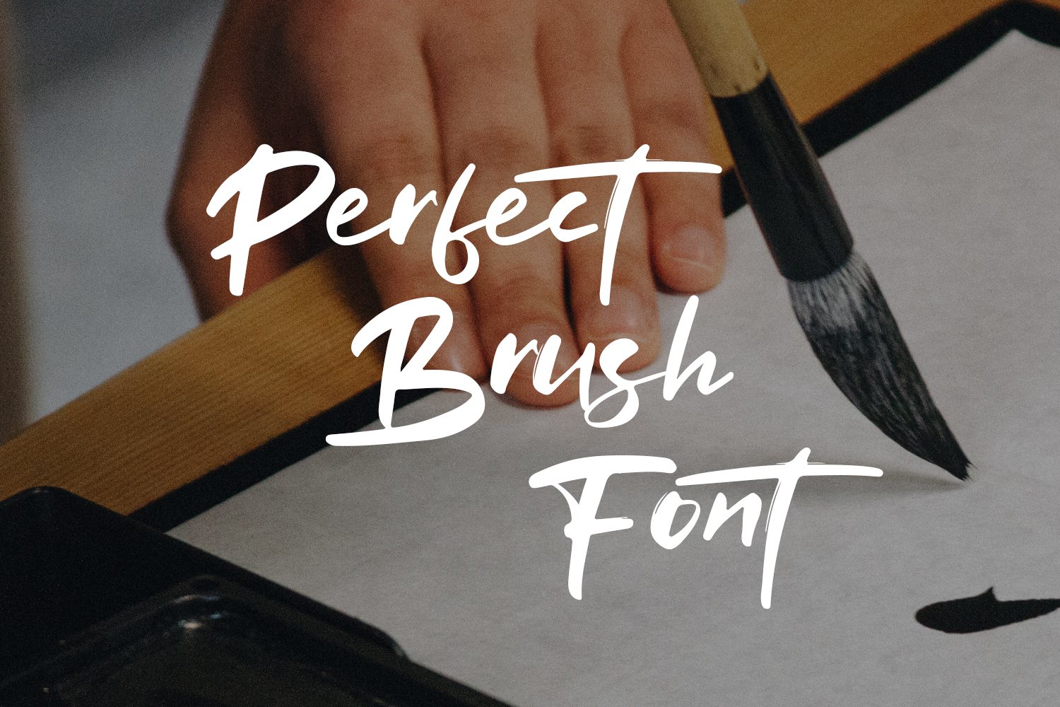 Rellive Brush Script Font example image 7