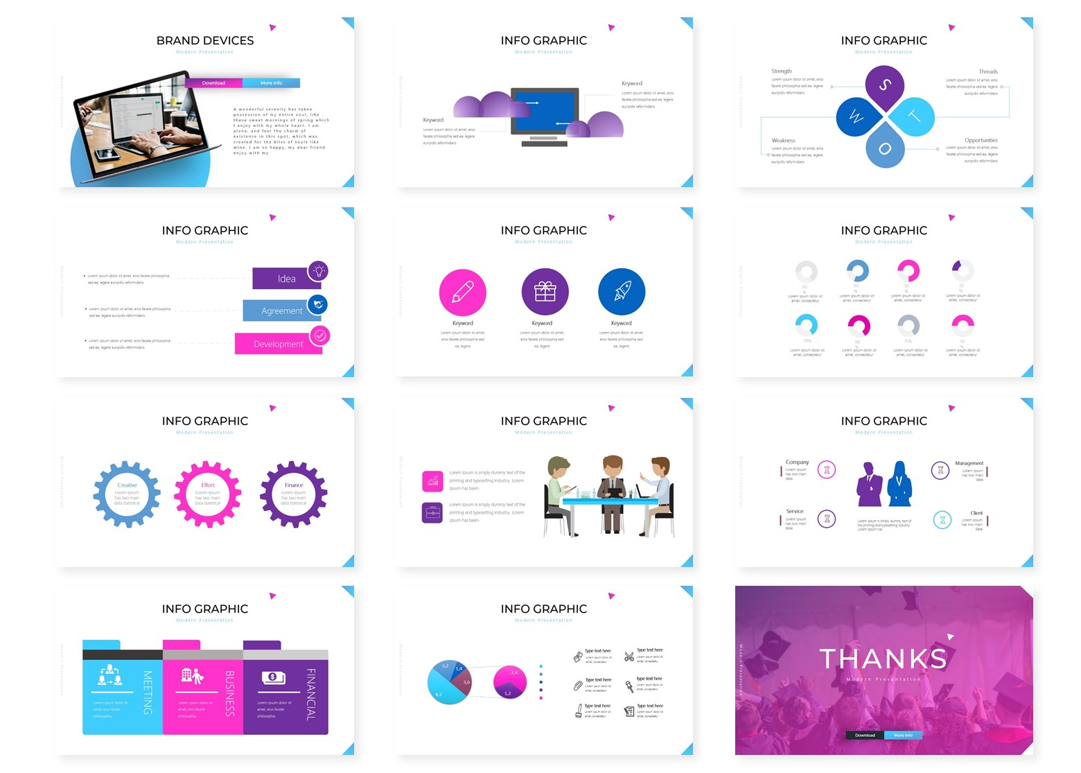 Educa | Powerpoint, Keynote, GoogleSlides Template example image 6